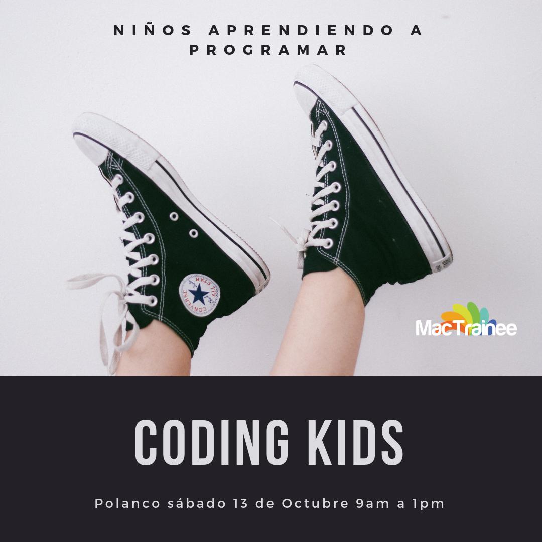 curso codingkids niños aprendiendo a programar